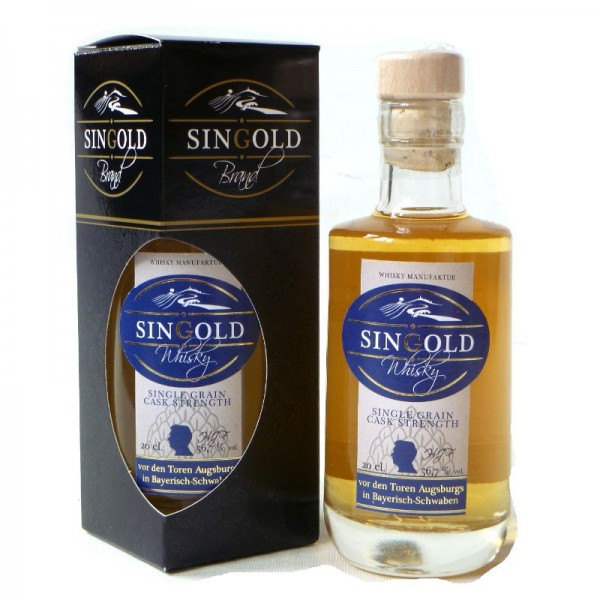 Singold Whisky Single Malt Cask strength 0,2 l